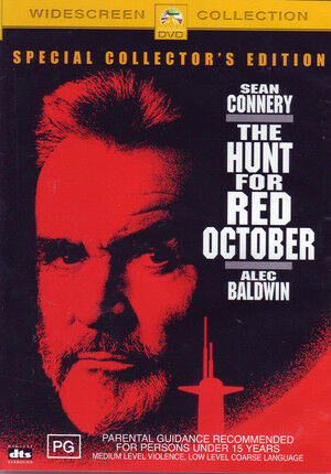 THE HUNT FOR RED OCTOBER New Dvd SEAN CONNERY ***