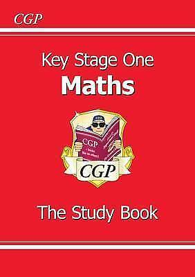 KS1 Maths Study Book by CGP Books (Paperback book, 1999)