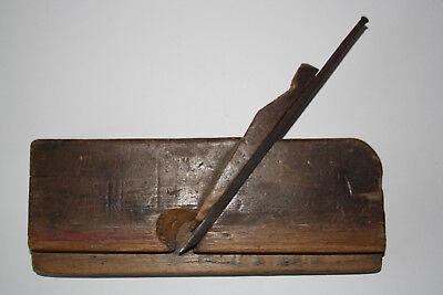 Alte Handhobel Holzhobel Hobel Tischlerwerkzeug Zimmermann Schreiner - Vintage Reines Und Mildes Aroma
