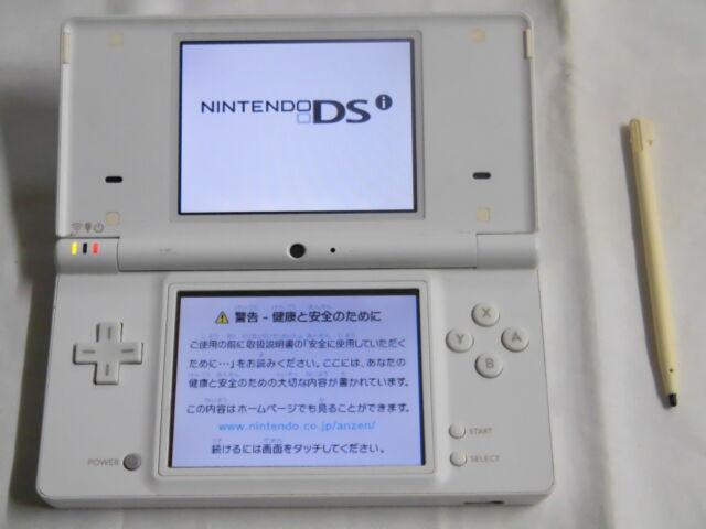X4618 Nintendo DSi console White Japan w/stylus pen