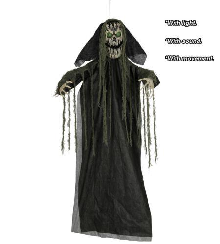 Halloween Suspendu Arbre Ghoul Accessoire Lumière & Son 190CM Décoration