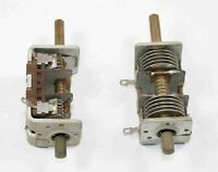 Variable Cap 8-22pf, 2 Gang, Air Dielectric, Double Ended ( Avc8_22 )