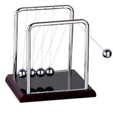 Newtons Cradle Steel Balance Balls Physics Science Desk Toys Accessory 85x7x9mm