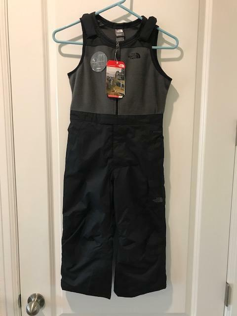 e2831b11e The North Face Toddler Insulated BIB Snow Ski Suit NWT TNF Black