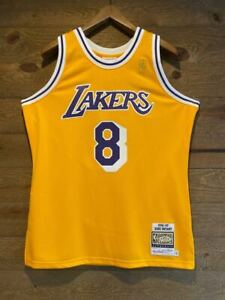 Details about Kobe Bryant #8 Mitchell & Ness 96/97 Lakers Jersey 100% AUTHENTIC! NWT