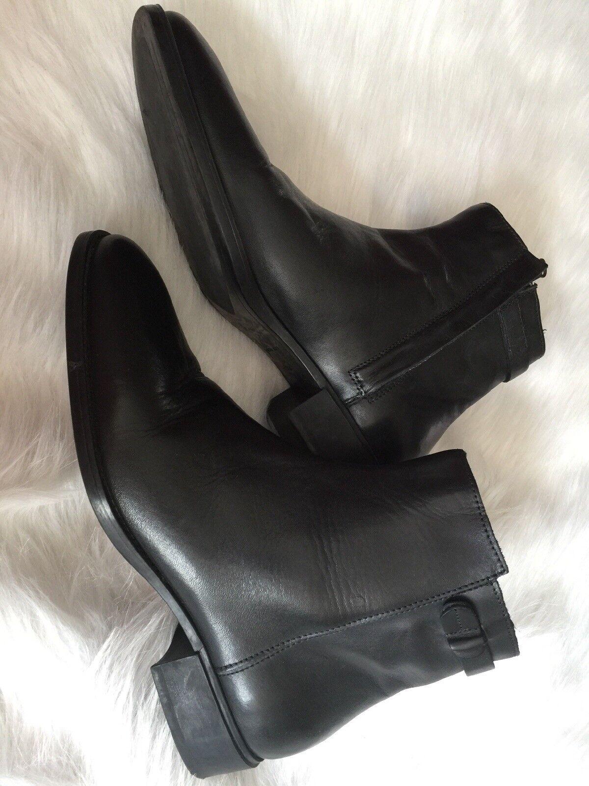Billig hohe Qualität Zara Herrenschuhe Größe 43 Schwarz