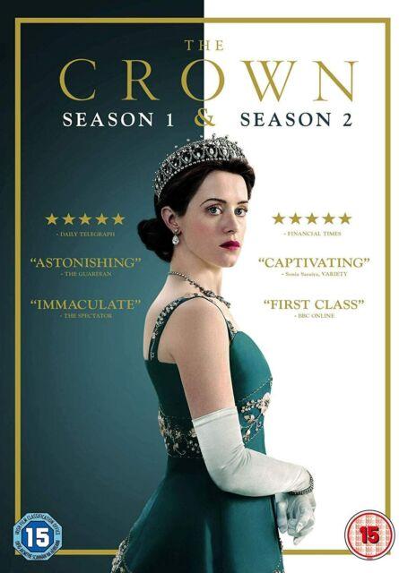 The Crown Season 1 & 2 (DVD)