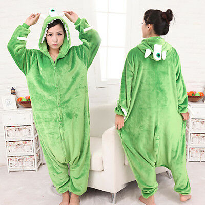 Unisex Adult Animal Onesies Kigurumi Pyjamas Pajama Sleepsuit Costume fleece