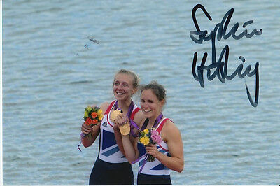 Sports Memorabilia Generous Sophie Hosking Hand Signed Great Britain 6x4 Photo London 2012 3.