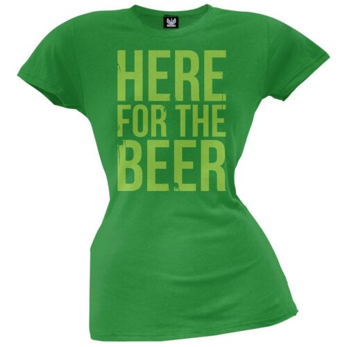 St Patrick/'s Day Here For The Beer Juniors T-Shirt