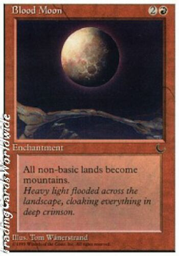 Blood Moon EX Chronicles engl. Magic the Gathering