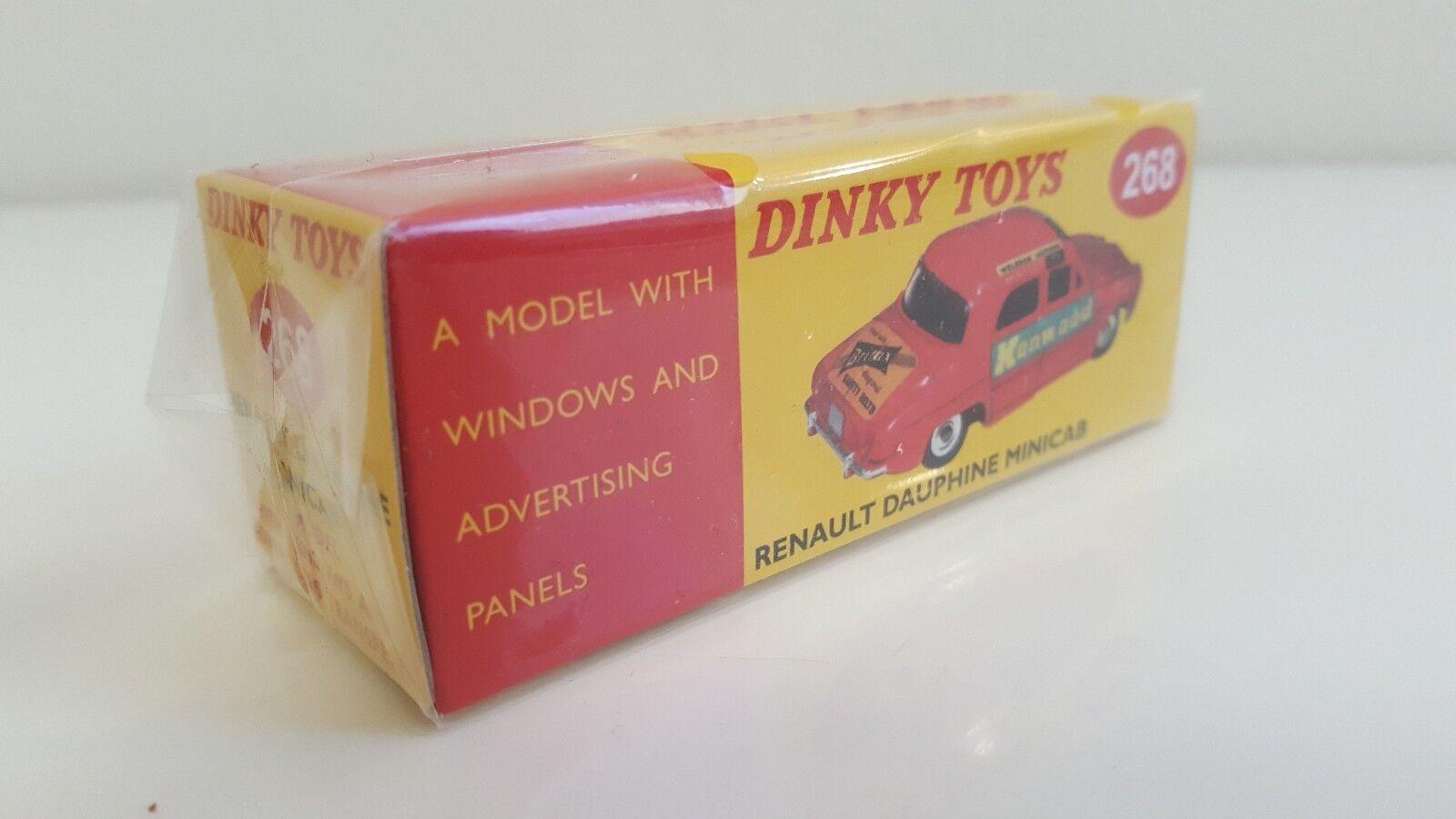 Dinky giocattoli DeAgostini  Renault Dauphine Minicab Taxi Neuve