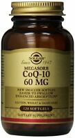 Solgar Megasorb Coq-10 Softgels, 60 Mg, 120 Count