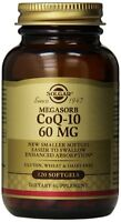 Solgar Megasorb Coq-10 Softgels, 60 Mg, 120 Count
