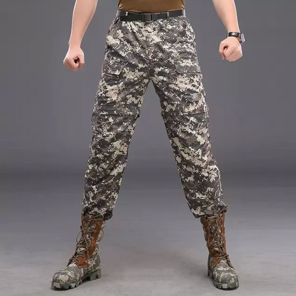Men's Military Shell two in  one removable Pants Hiking Outdoor Shorts Trousers  big savings