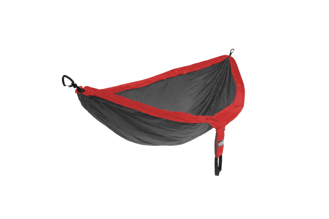 Eagles Nest Outfitters Eno Doble Hamaca Rojo gris Carbón