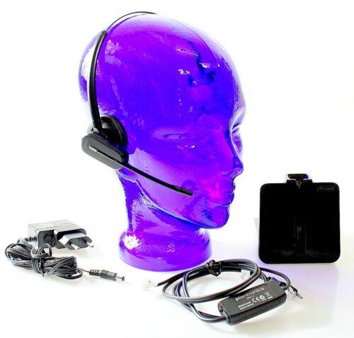 mit Kopfbügel Auerswald Dect Headset inkl Monaural MwSt. APS-11 // inkl