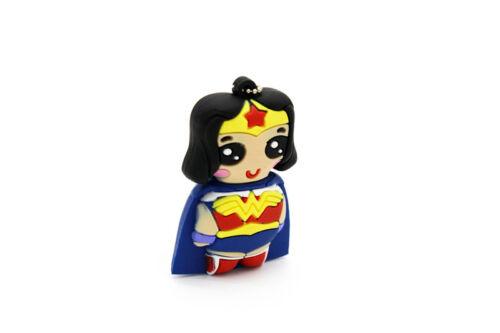 1pc 16GB Wonder Woman Super Hero USB Flash Thumb Drive USA Shipper