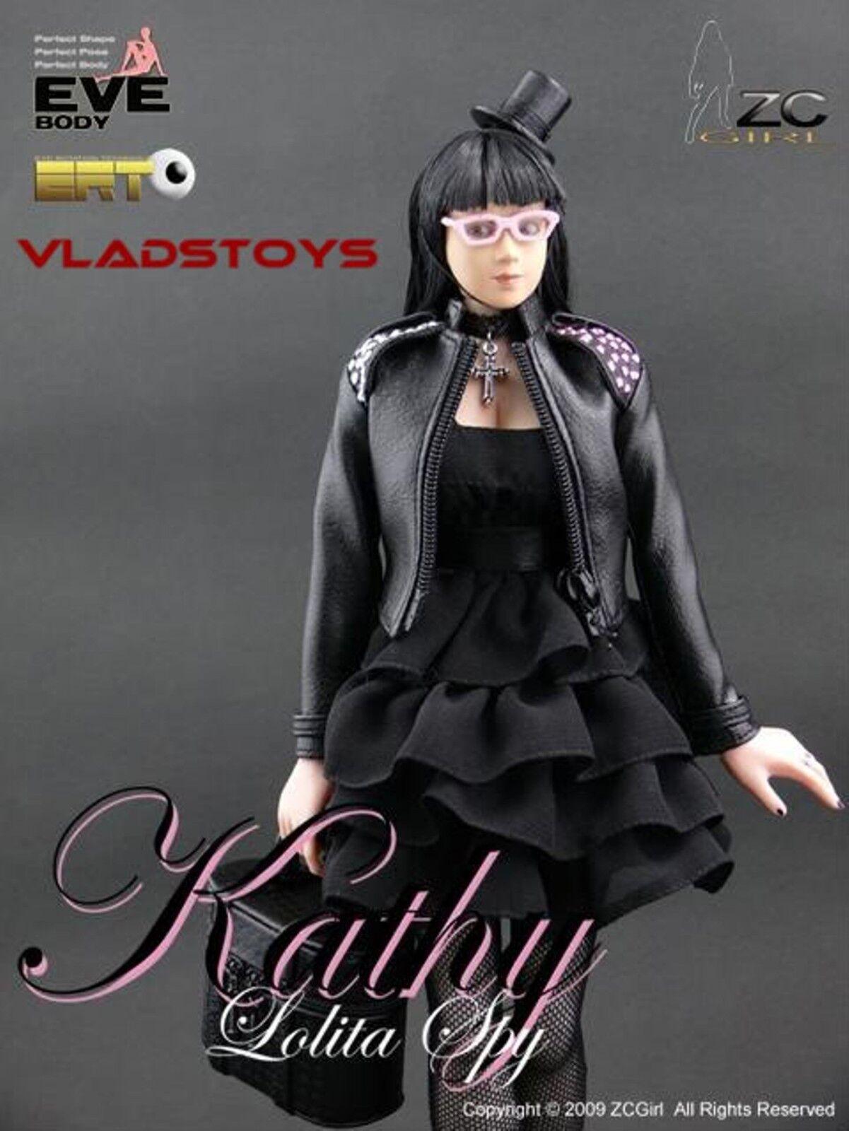 ZC Girls CY Girl 1:6 Scale 12   Kathy Lolita Sexy hot female Spy