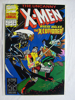 Uncanny X-Men Annual #17 (1993, Marvel) SIGNED/ AUTO by Jason Pearson 9.8 NM/MT