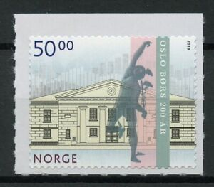 Norway-2019-MNH-Oslo-Stock-Exchange-Bicentenary-1v-S-A-Set-Architecture-Stamps