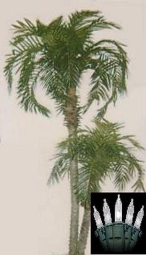 8' Artificial Phoenix Phoenix Phoenix x 2 Palm Tree Plant Bush Date Sago Patio Christmas Lights 124d95