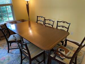 Antique Dining Room Table, Antique Dining Room Furniture 1950