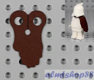 LEGO-Star-Wars-Minifigure-Cape-Slim-Reddish-Brown-Custom-Boba-Fett-Pauldron