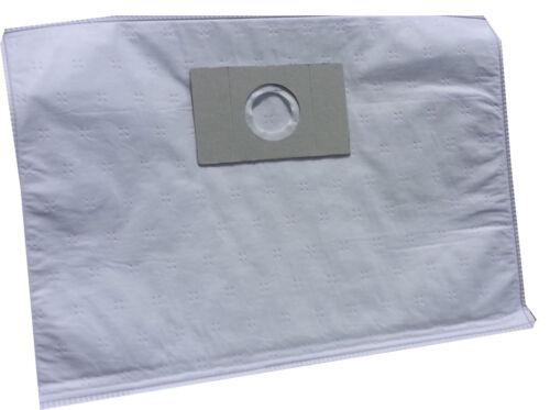 A206MF 4 sacchetti filtro sacco microfibra per Progress Bidone Aspiratutto P 565