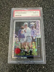 1998 Peyton Manning Score Showcase Series ARTIST'S PROOF Rookie RC PSA 9 MINT