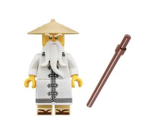 lego ninjago sensei wu split from 70618 destiny s bounty ebay