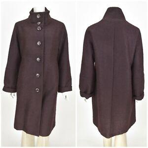 Womens-Marimekko-Vintage-Coat-Jacket-Wool-amp-Mohair-Button-Size-42-UK14