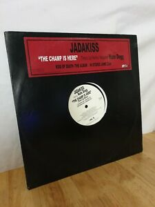 Jadakiss Feat Nate Dog The Champ Is Here 12 Inch Vinyl Record