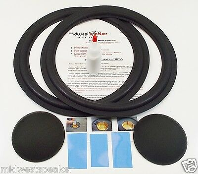 Durpower 15 Foam Speaker Surrounds SubWoofer Edge Sub Woofer For Pioneer CS-E9900 HPM1100 CS-M90 CSE9900 CSM90 CS-F9900 CSF9900 HPM-1100