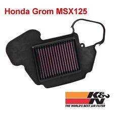 Honda Grom 125 MSX125 K&N High Performance Air Filter HA-1313 all Years