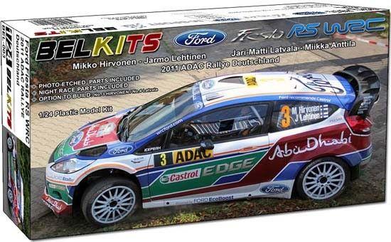 Belkits 1 24 Ford Fiesta RS W2C 2011 Rallye Deutschland BEL-003