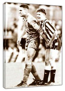 Humour Vinnie Jones Gazza Attrape Sports Football Photo Imprimé Sur Encadrée Toile-afficher Le Titre D'origine