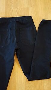 FOREVER-21-WOMENS-STRETCH-jegging-JEANS-SZ-24-0-BLUE-WASHED-HIGH-WAISTED