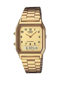 Casio-Vintage-AQ-230GA-9B-Gold-Plated-Watch-Unisex