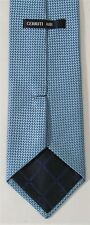 CERRUTI 1881 Blue Men's Silk Tie Made France NEW WITH TAGS