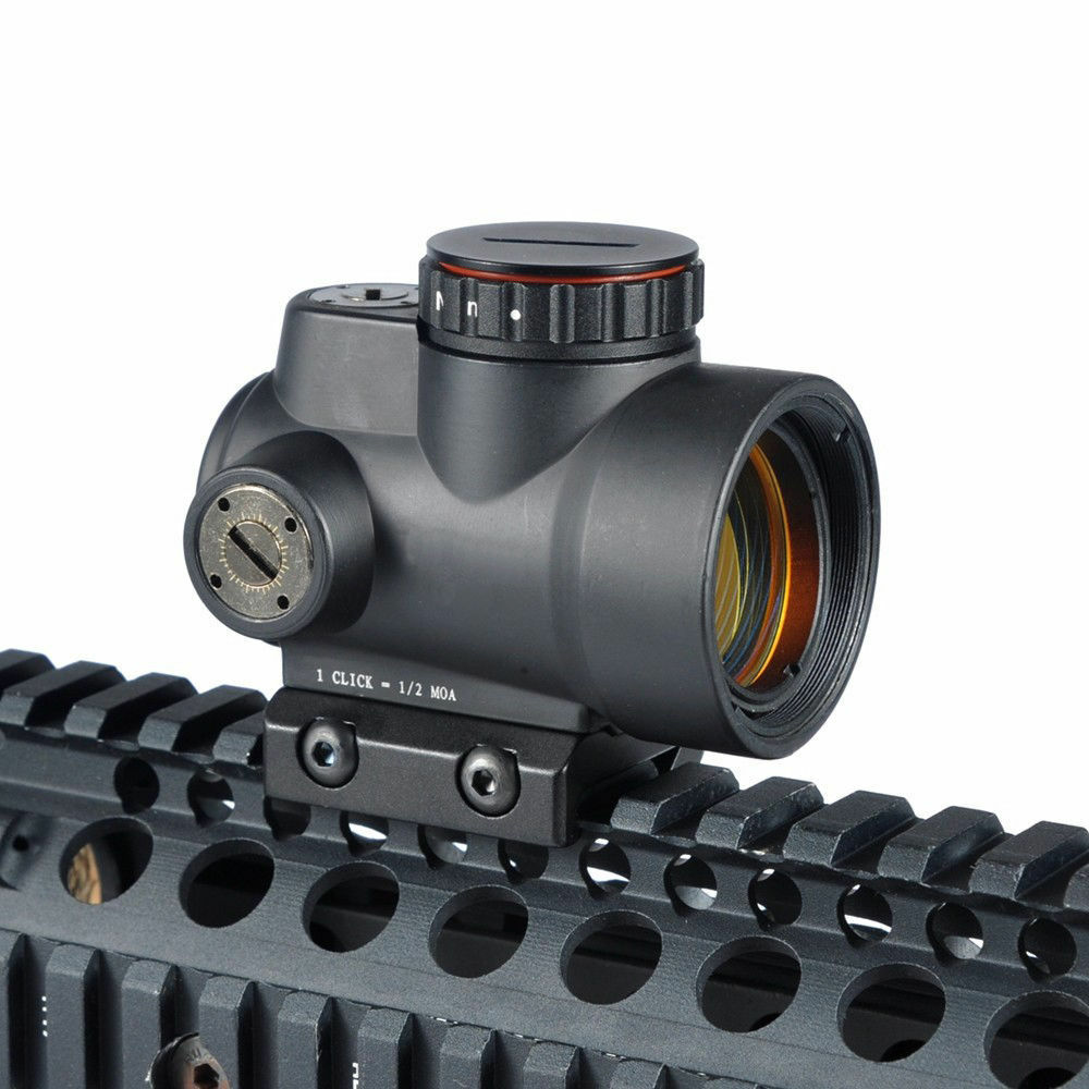 Tactical 1X25 MRO Reflex-Style 2.0 MOA Adjustable Red Dot Sight Scope