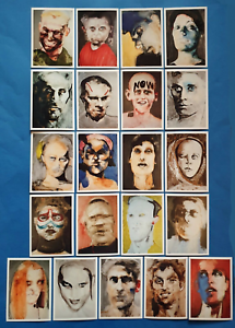 21-NEW-Art-Postcards-Abstract-Faces-Xenoi-Friends-amp-Strangers-Caterina-Albert