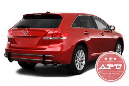 2009-2015 Toyota Venza Rear Bumper Guard Protector Black Powder Coated