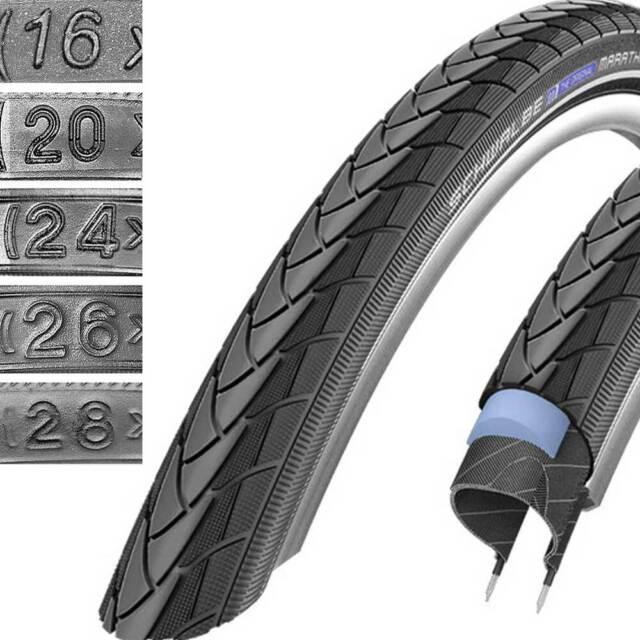 unplattbar SCHWALBE Marathon Plus Tour HS404 2x Fahrradreifen mit Pannenschutz