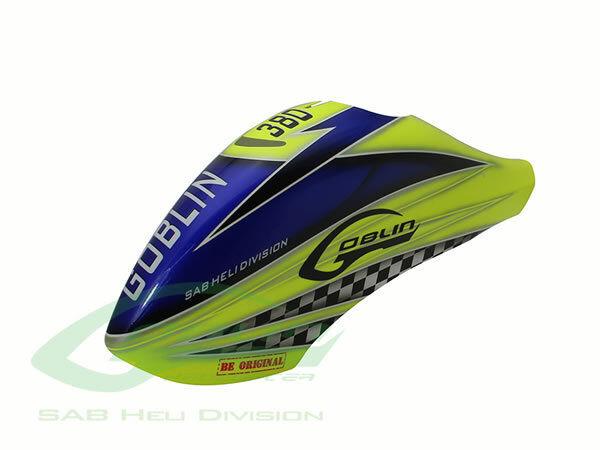 Canomod Airbrush Canopy SAB Yellow bluee - Goblin 380