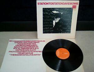 David-Bowie-Station-To-Station-Vinyl-12-034-LP-UK-1st-A1E-B1E-Press-Insert