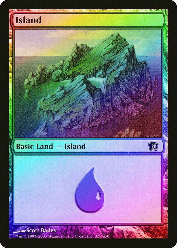 254 Island FOIL Innistrad NM Basic Land MAGIC THE GATHERING CARD ABUGames