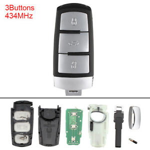 Replace Keyless Entry Remote Key Fob 434MHz for 3C0959752BA VW