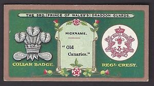 MITCHELL-REGIMENTAL-CRESTS-amp-COLLAR-BADGES-THE-3RD-PRINCE-OF-WALES-DRAGOON