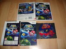 SUPER MARIO GALAXY RVL-RMGP-ESP PARA LA NINTENDO Wii USADO COMPLETO